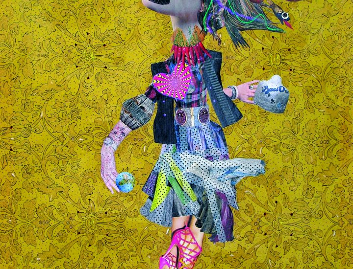 Giu¦Ç e Su, 100x74 cm, mixed media, 2012
