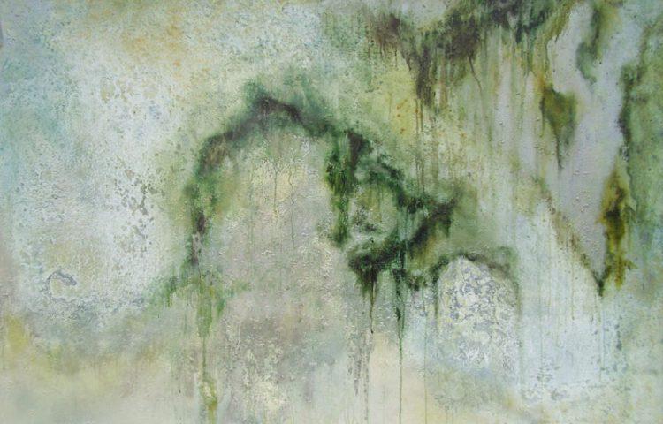 Senza titolo, 2010, cm 110x170, tecnica mista su tela