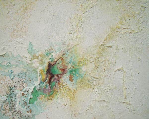 Senza titolo, 2011, cm 40x50, tecnica mista su tela