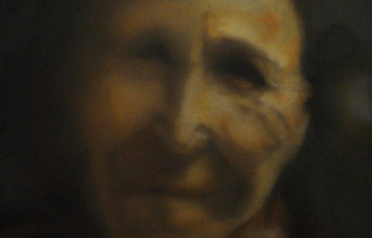 Soffio, 2011. Olio su tela, 40x30